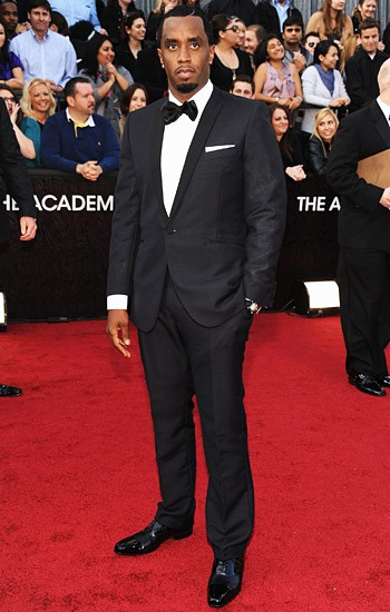 P. Diddy is nice and polished in a tailored, one-button suit