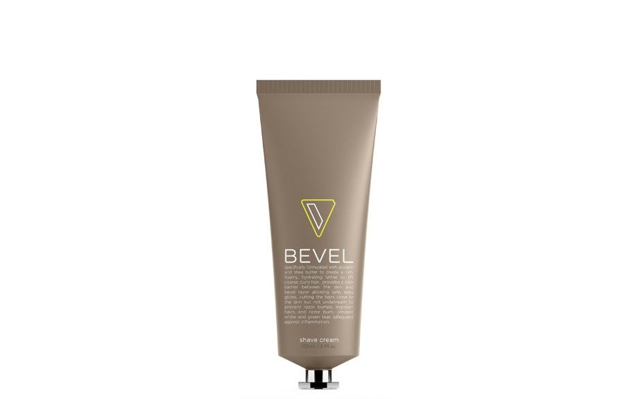 """<a href=""""https://getbevel.com/learn-more""""><strong>The Shaving Cream</strong></a>, put a few drops of this on the badger brush before gliding the Bevel razor over your skin"""