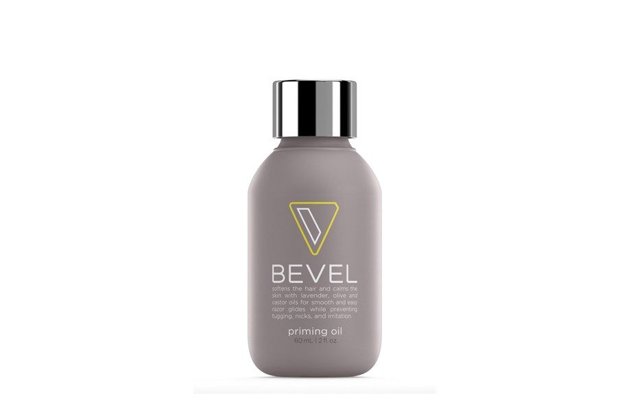 """<a href=""""https://getbevel.com/learn-more""""><strong>The Primer Oil</strong></a><strong>,</strong> rub this on right after the shower to prepare your skin for the shave."""