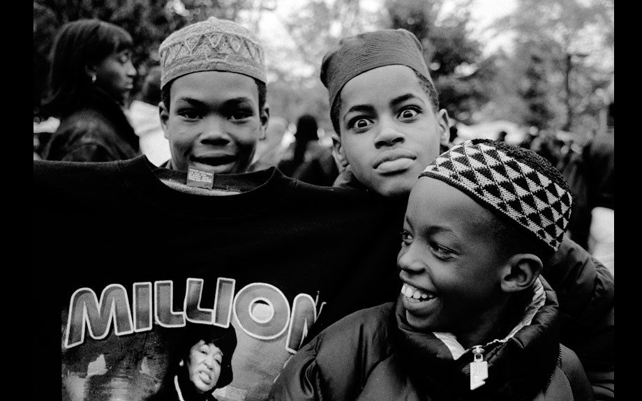 Muslim Boys I, Million Women March, Philadelphia, 1997