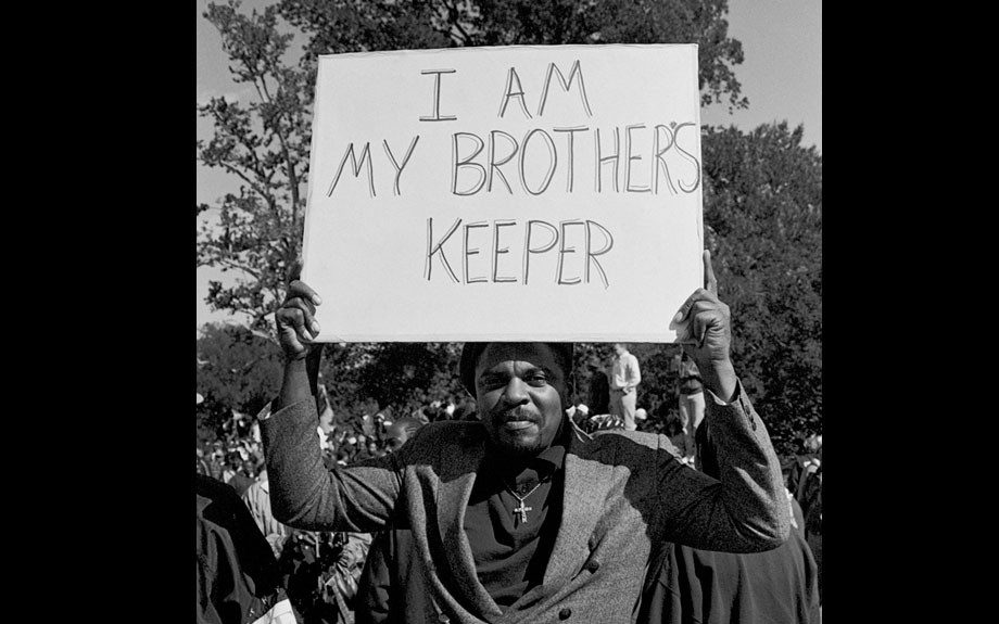 My Brother's Keeper, Million Man March, Washington DC, 1995