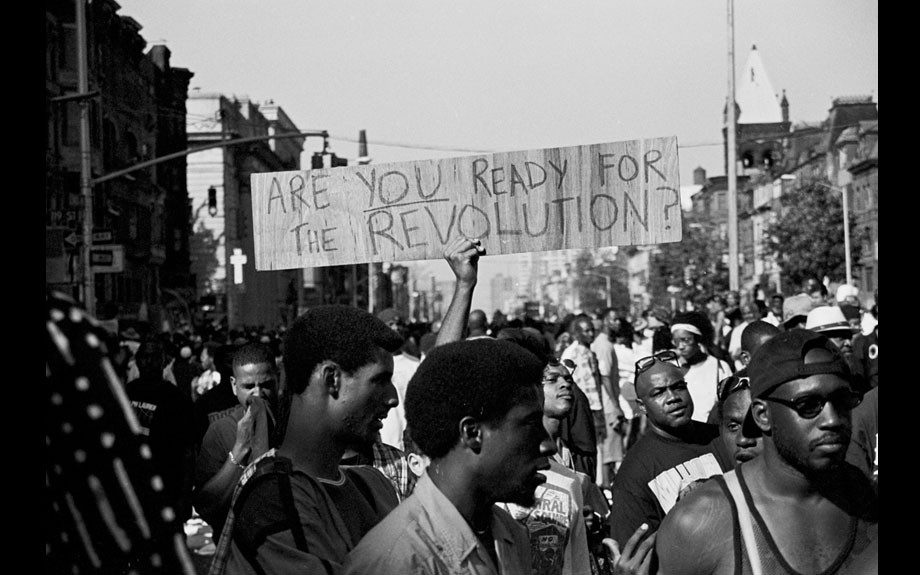 Revolution, Million Youth March, Harlem, 1998