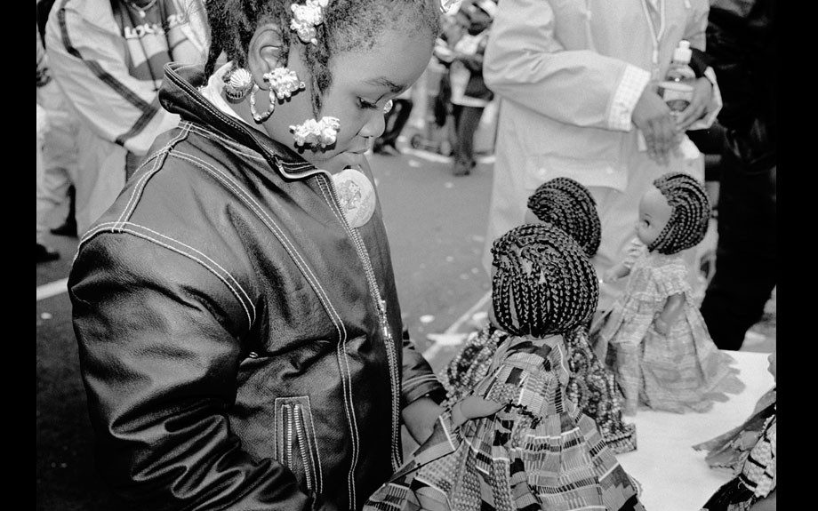 Black Dolls Matter, Million Women March, Philadelphia, 1997