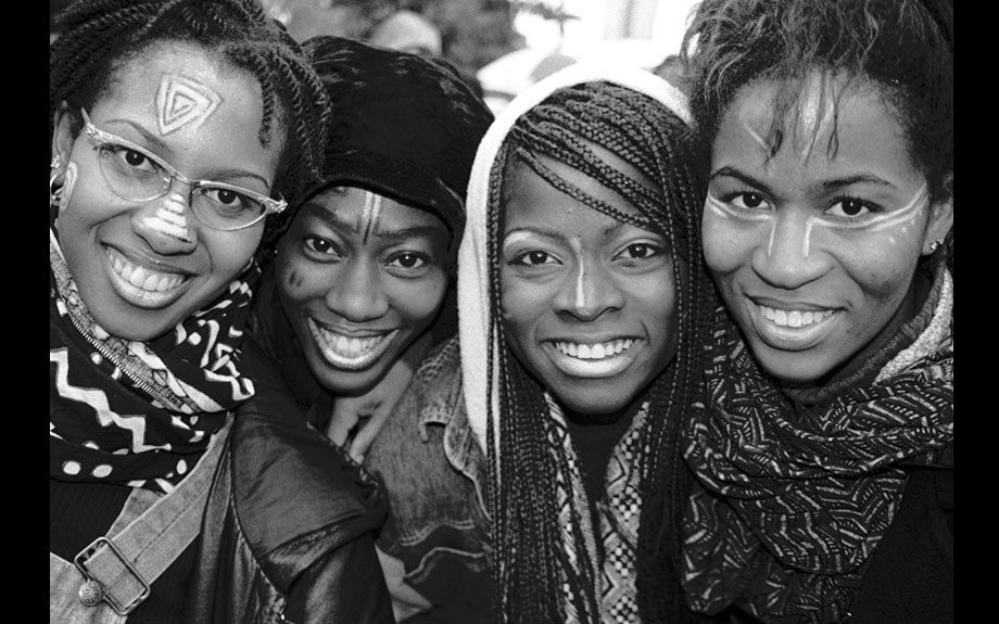 Brooklyn Sistas, Million Women March, Philadelphia, 1997