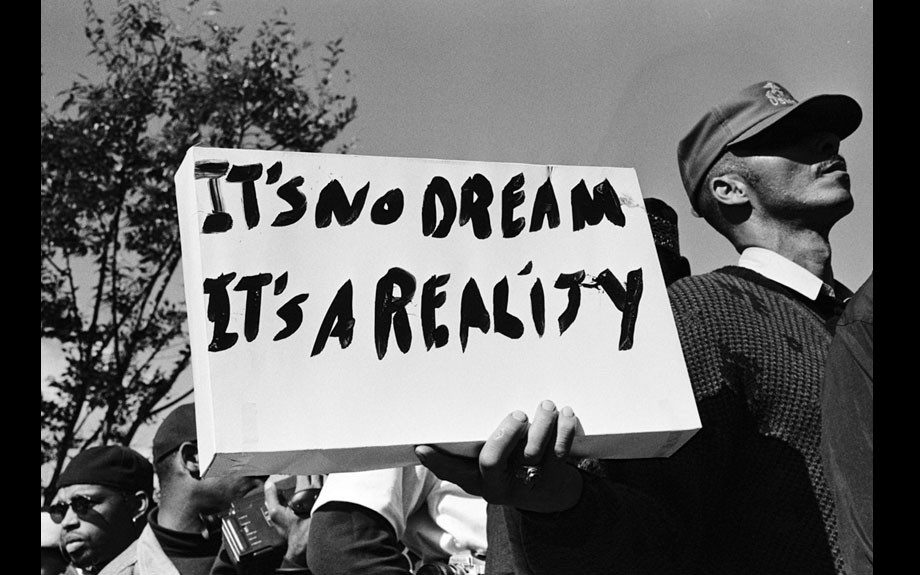It's No Dream, Million Man March, Washington DC, 1995