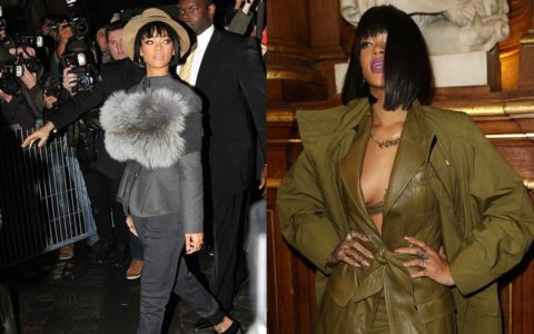 Rihanna Shuts Down Paris Fashion Week [PHOTOS]