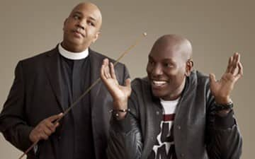 Rev Run and Tyrese Visit EBONY in Chicago