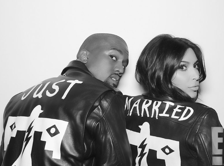 <strong>What's more gangster than matching JUST MARRIED leather jackets?</strong>