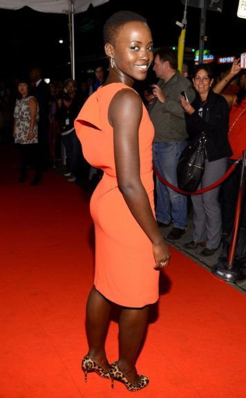 September 7, 2013: Lupita Nyongo attends the Fox Searchlight Tiff party in Canada.