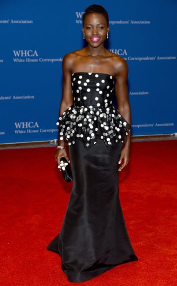 Lupita Nyong'oattends the White HouseCorrespondents' Dinner