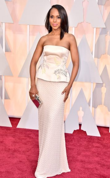 Kerry Washington, arriving at the87thannual Academy Awards in the DolbyTheatrein Hollywood
