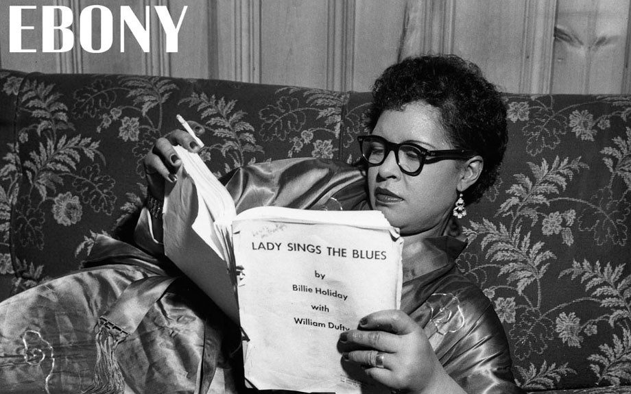 """Billie Holliday reviews autobiography manuscript 'Lady Sings the Blues.' Shop the entire EBONY Collection<strong><a href=""""http://www.ebony.com/store#axzz2PsEj7sec"""" target=""""_blank"""">here</a></strong>."""