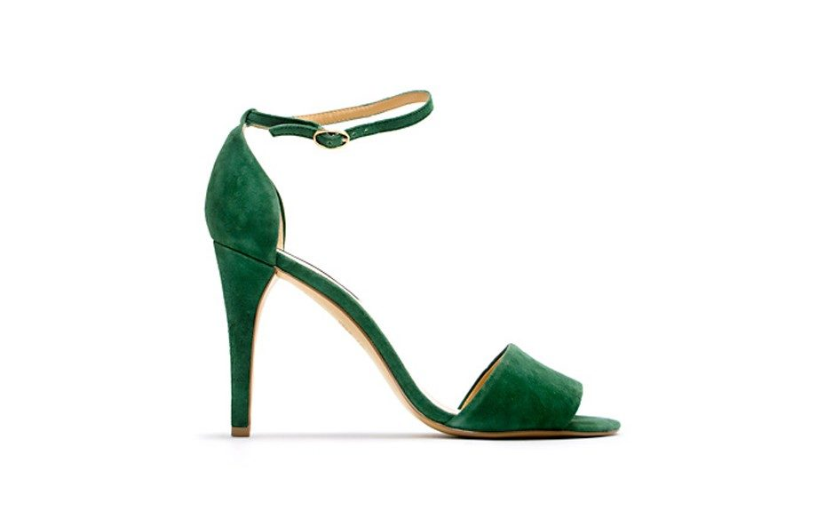 For the Trend Lover: Mango Leather Sandals ($65, mango.com)
