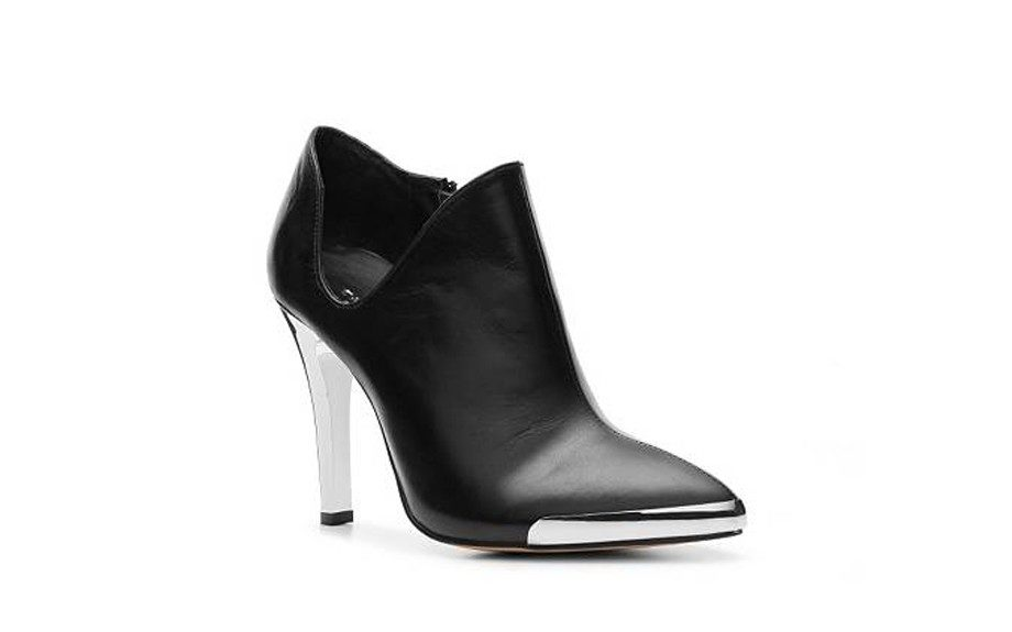 """For the Edgy: Chinese Laundry Autumn Bootie ($100,<a href=""""http://www.dsw.com/shoe/chinese+laundry+autumn+bootie?prodId=294730&activeCats=cat10006,cat20173,dsw12cat1100004"""" target=""""_blank"""">DSW.com</a>)"""