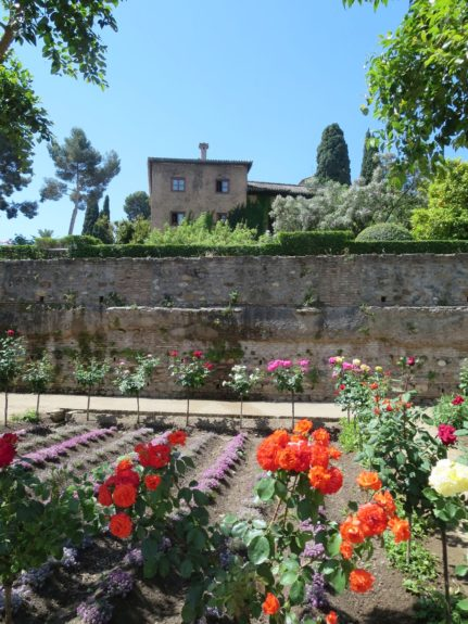 The gardens of Alhambra