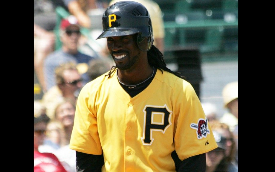 Pittsburgh Pirates outfielder releases video to help promote for Major League Baseball's opening day March 31st
