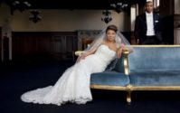 BLACK WEDDING STYLE: Stacie and George Wed on a Luxe Rooftop