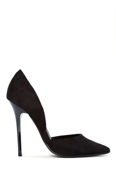 """Trade in your patent and perforated pumps for a classic suede pair, such as these Steve MaddenVarcityPumps, $105,<a href=""""http://www.nastygal.com/shoes-heels/steve-madden-varcity-pump--black?utm_source=polyvore.com&utm_medium=feed&utm_campaign=pumps"""">www.nastygal.com&a"""