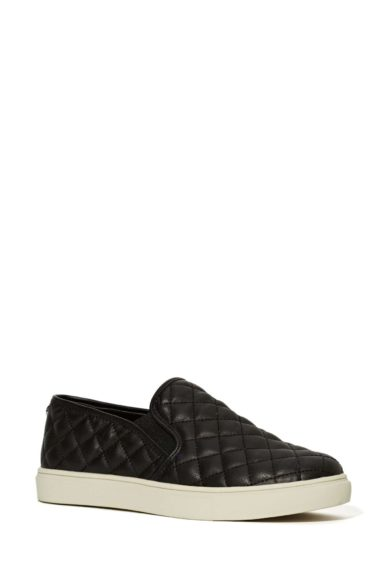 """Slip-on sneakers are here to stay, and these Steve MaddenEccentricQuilted Sneakers should be every commuter's go-to for those constant walks to the train station or bus stop, $68, <a href=""""http://bit.ly/1rdT784"""" target=""""_blank"""">www.nastygal.com</a>"""