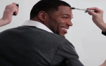 Michael Strahan Wakes Up Happy [INTERVIEW]