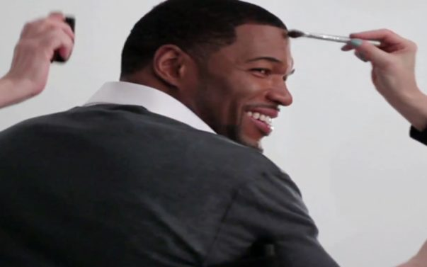 Behind The Cover Shoot: Michael Strahan