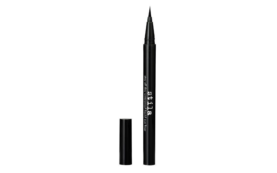 """<strong><a href=""""http://www.sephora.com/stay-all-day-waterproof-liquid-eye-liner-P253818"""" target=""""_blank"""">Stila Stay All Day Waterproof Liquid Eye Liner In Jet Black </a>($20, Sephora.com)</strong> <div> </div>"""