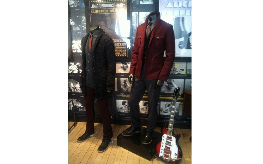 The John Varvatos man is rock 'n' roll with an English gentleman twist