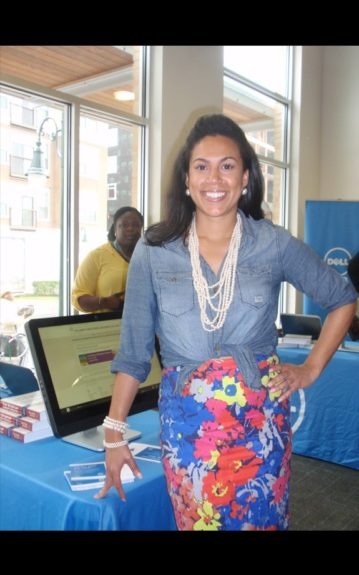 Natalie Madiera Cofield, President of Austin's African-American Chamber of Commerce hosted a private event with Dell an Google to kick off SXSW