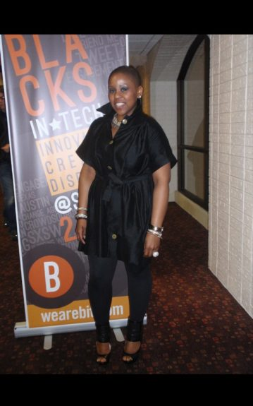 Lindsey Holmes, CEO of LCH Business, a digital marketing campaigns and strategy company, was a speaker at Blacks in Tech