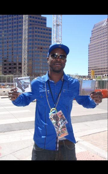 Ken Kamara of New Era Global traveled from Los Angeles to promote music and artistry at SXSW. I caught up with him outside of Austin's Convention Center