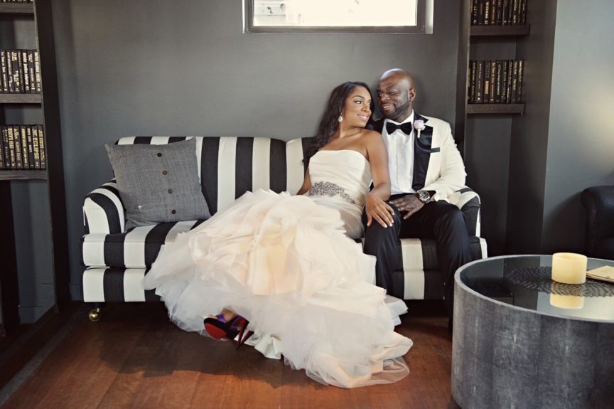 EBONY sends our congrats to the newlyweds!
