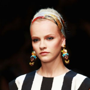 At Milan Fashion Week, Dolce & Gabbana's models wore Black Mammy earrings down the runway however no Black models were featured in the show.