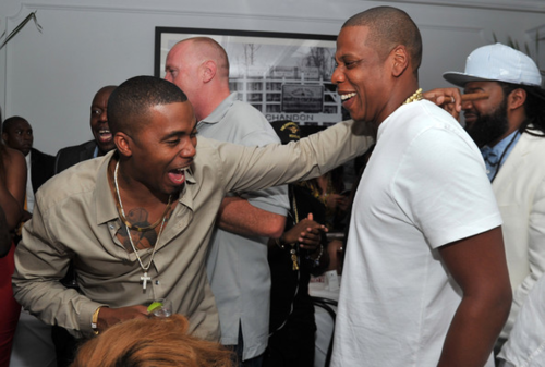 """Nasir Jones and Shawn Carter eventually collaborated on """"Black Republican,"""" """"Success,"""" and Ludacris's """"I Do It for Hip-Hop."""" Classy."""