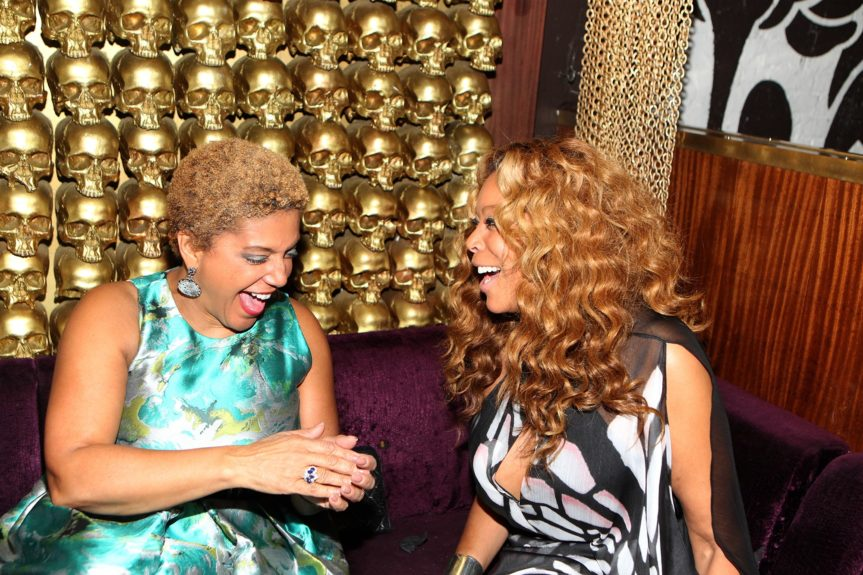 Chairwoman Linda Johnson Rice and Wendy Williams