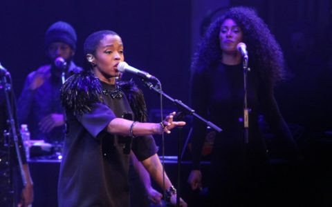 Lauryn Hill Brings Down the House at 'Rock! Like a Girl' [PHOTOS]