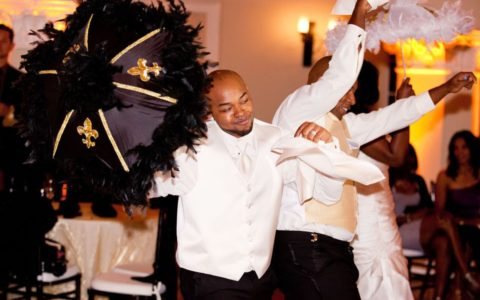 BLACK WEDDING STYLE: A Big Easy Wedding