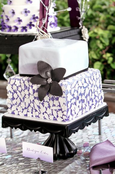 ...but two beautiful cakes!