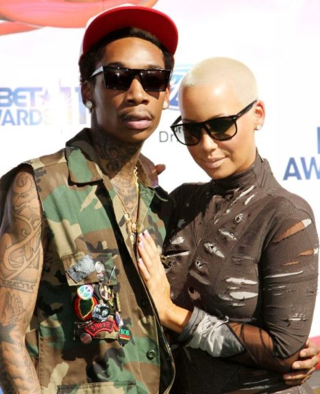 The show-stopping former stripper who once dated Kanye West jumped ship to Wiz Khalifa and hasn't left since. Wiz even proposed to her. Guess there is someone out there for everyone.