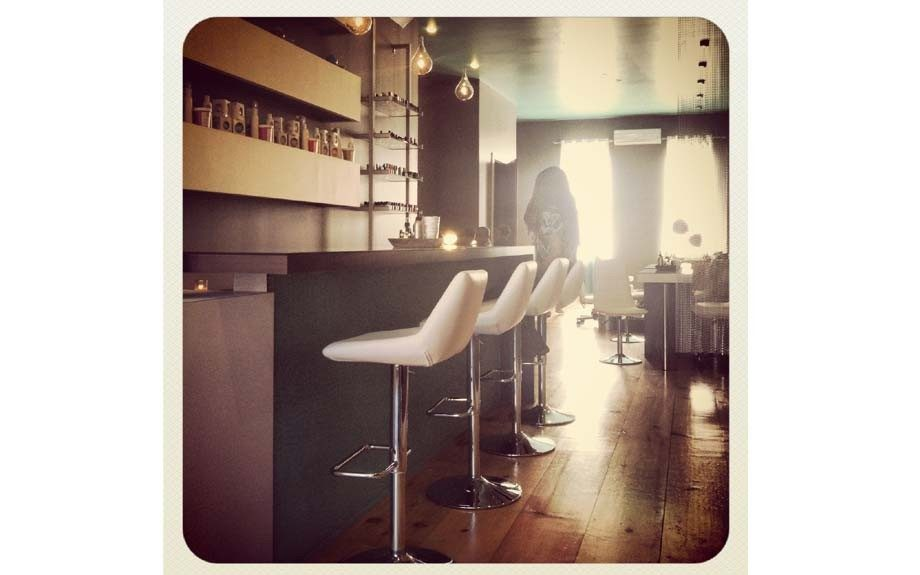 In a rush? Grab a seat at VP's nail bar for a polish change in a flash.
