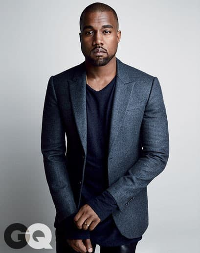 Yeezy cleans up nice.