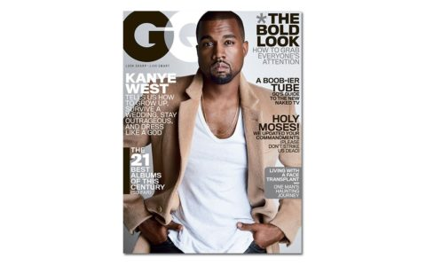 Kanye Kills It on New GQ Cover—As a Style God Should
