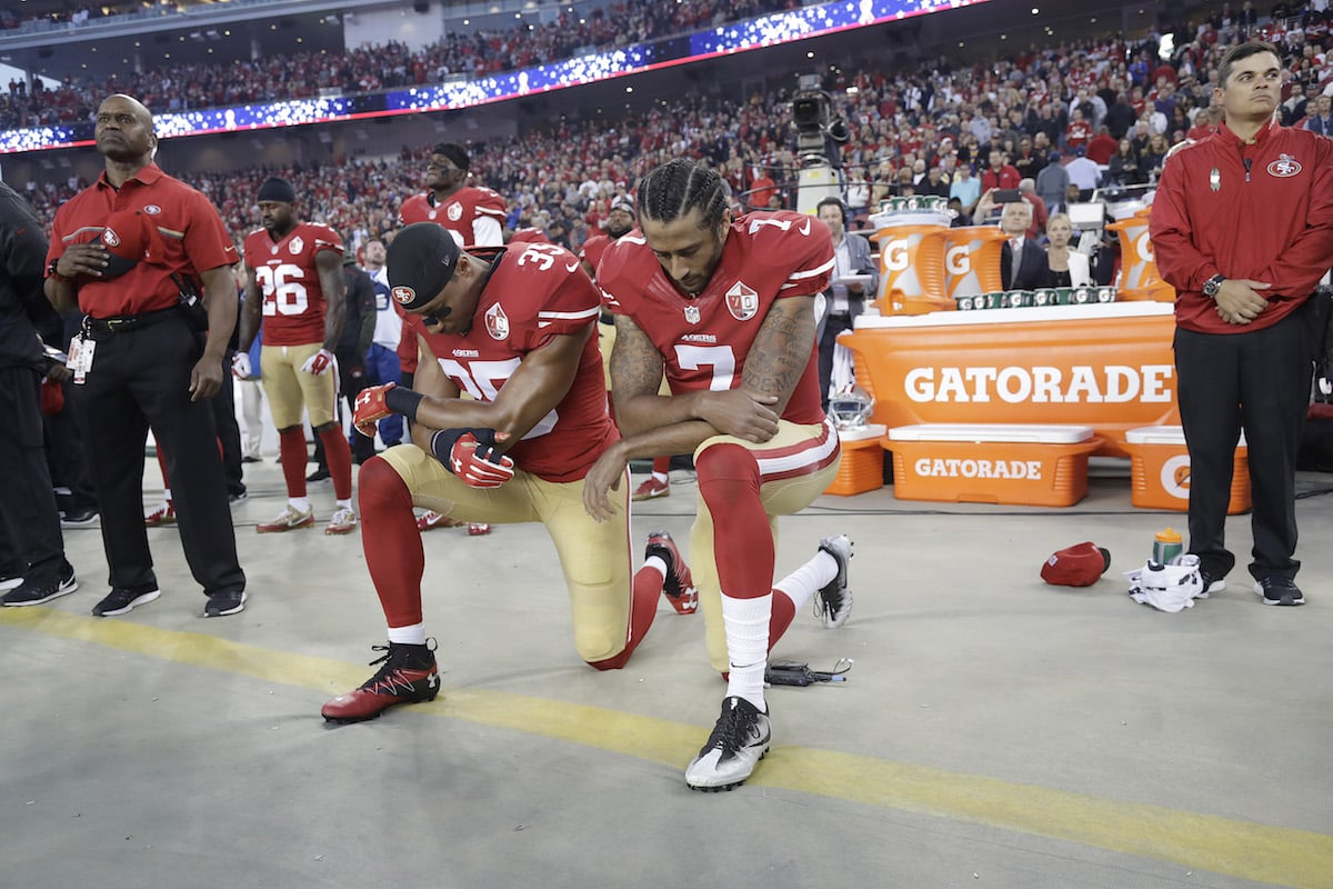 Eric Reid, Colin Kaepernick, NFL, national anthem policy