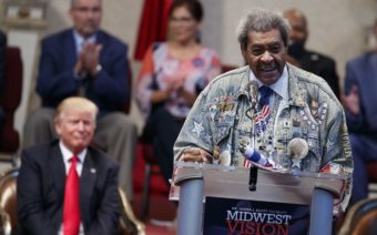 Mike Tyson Throws Water at Don King During Boxing Event (VIDEO)