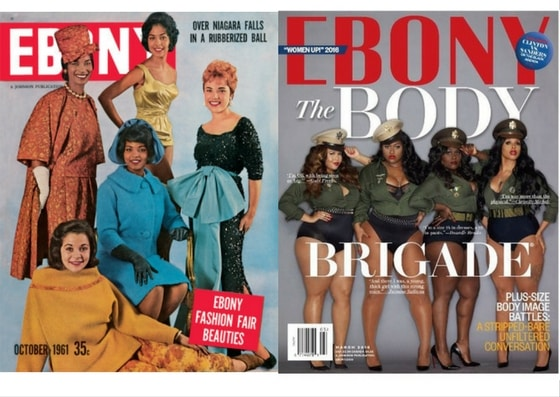 EBONY Magazine Anniversary Covers