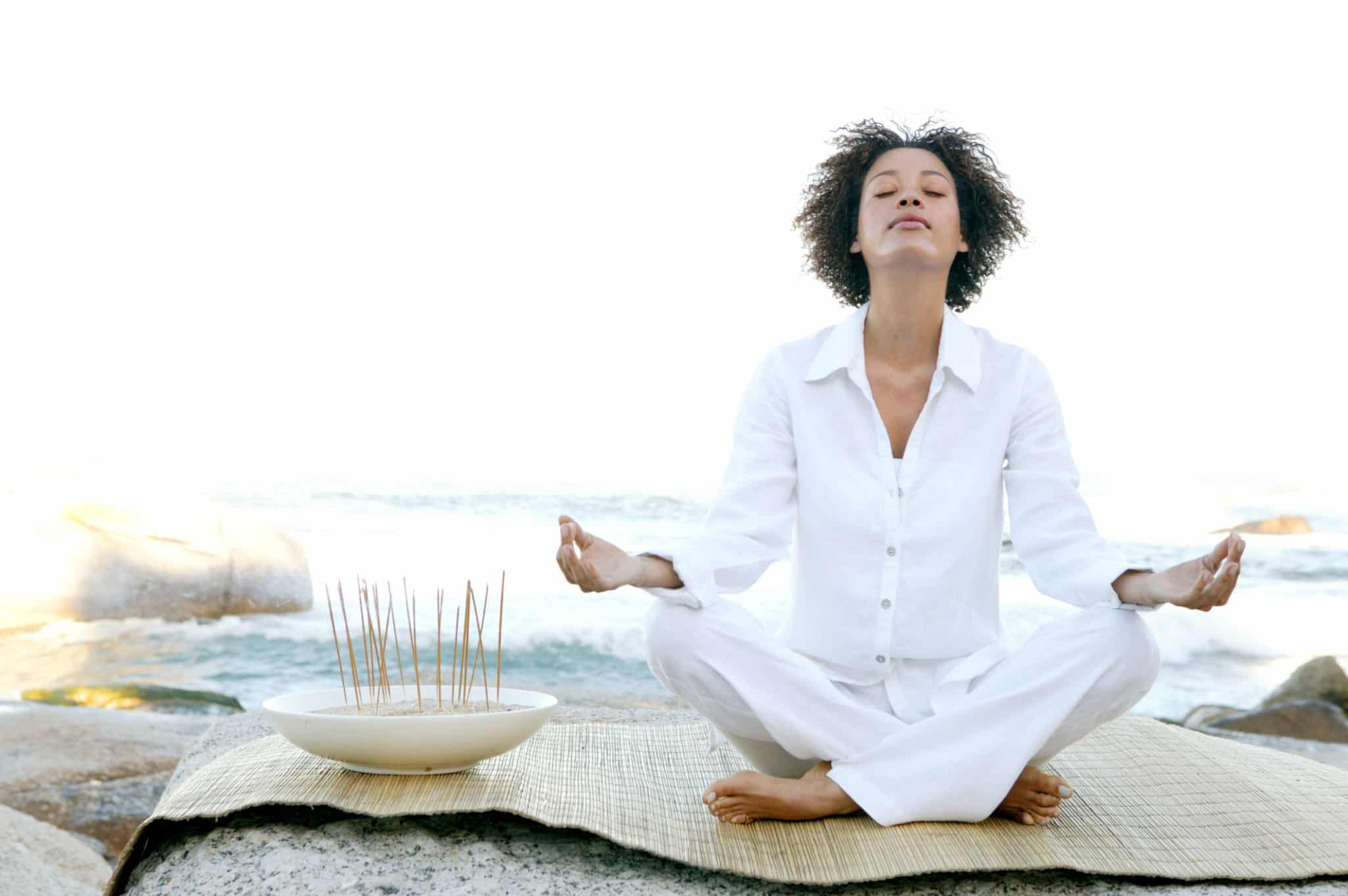 App Addict Keep Calm And Meditate On Ebony