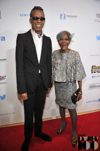 Actress and Legend Awardee Cicely Tyson (right) with guest