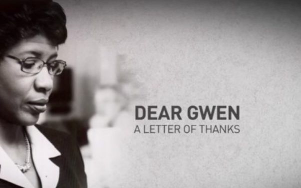 Watch: A Touching Tribute to Journalist Gwen Ifill