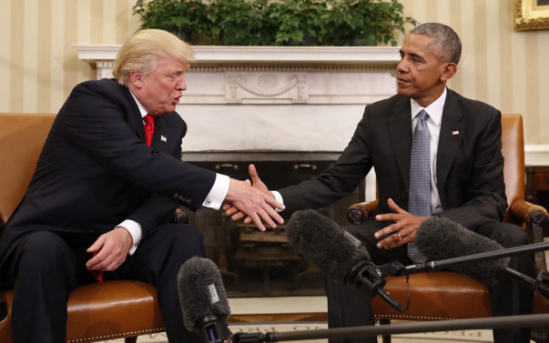 Obama Trump Transition of Power