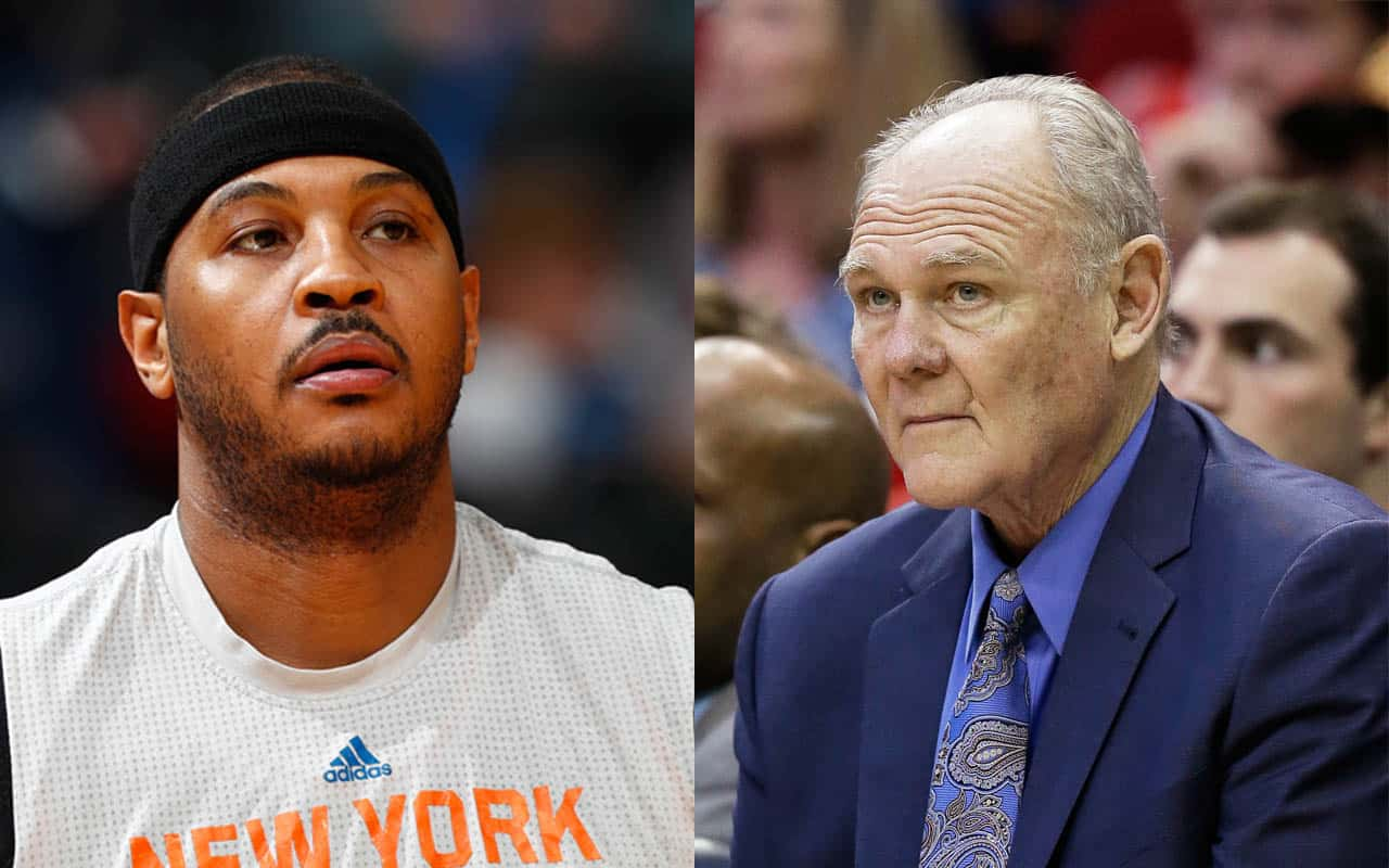 Carmelo Anthony George Karl