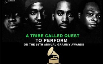 A Tribe Called Quest Reunite for 25th Anniversary! [VIDEO]